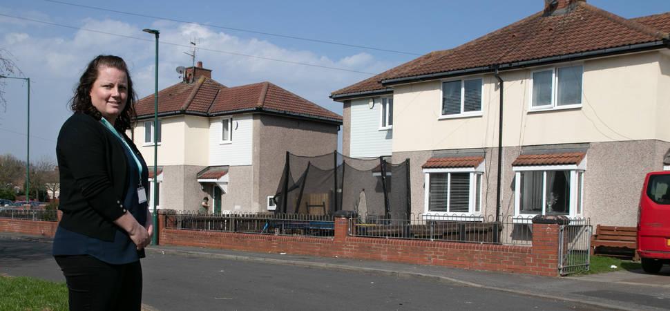 Beyond Housing makes progress on £1M upgrade scheme in Grangetown