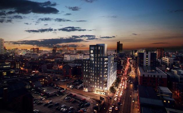 £30m Manchester apartments plan submitted