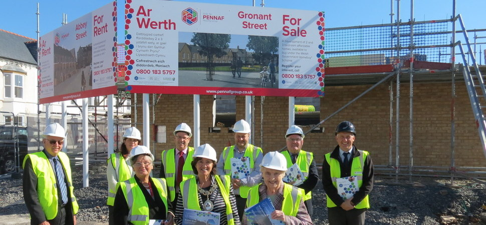 Galliford Try Partnerships makes progress on new affordable homes in Rhyl