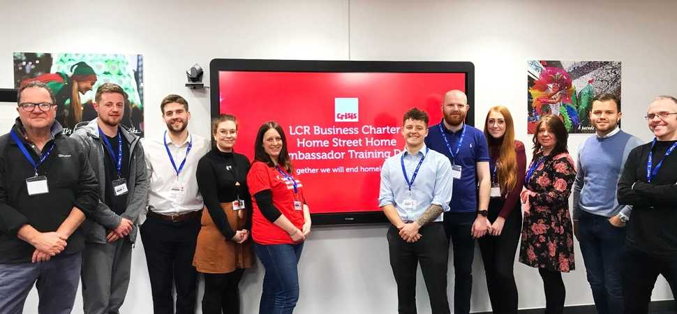 More LCR businesses urged to sign Homelessness Business Charter as first champions begin training