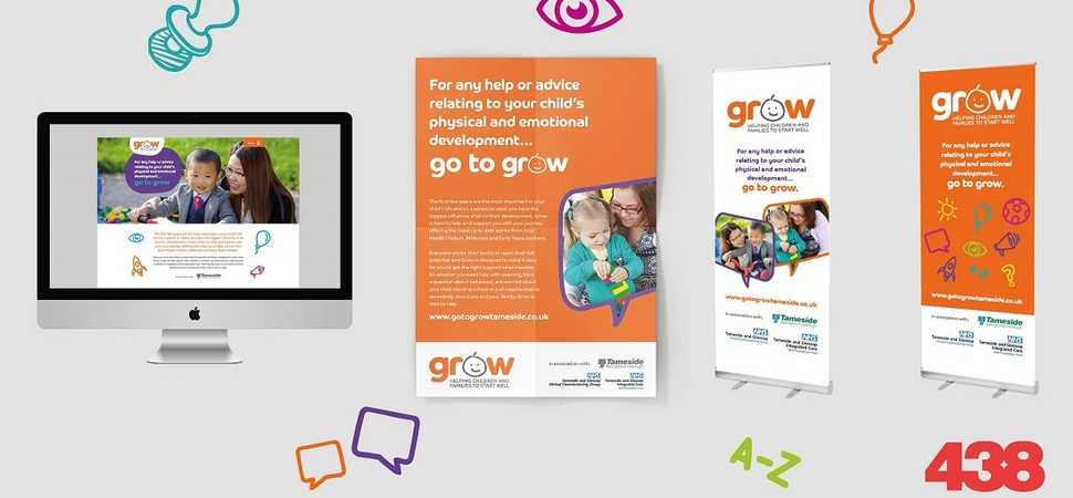 Further Growth with 438 Marketing for Tameside Council Grow Initiative
