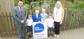Good sports from Guiseley estate agency boost school's fund-raising campaign