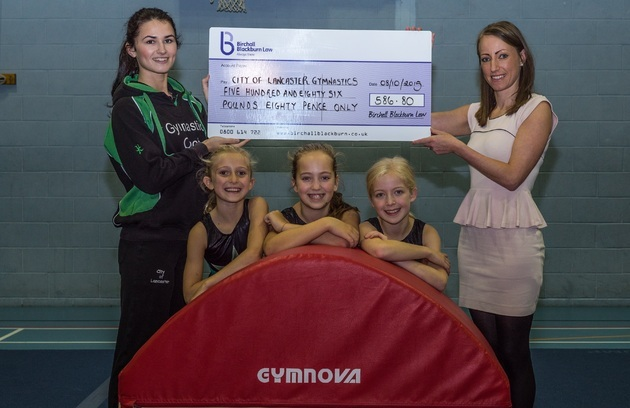 Lancaster gymnastics club vaults to new heights