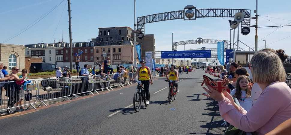 Hallidays get on their bike to raise over £400 for Francis House Children's Hospice