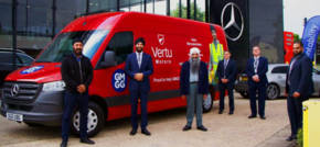 Support For Local Food Banks With Van Donation From Vertu Mercedes-Benz Slough