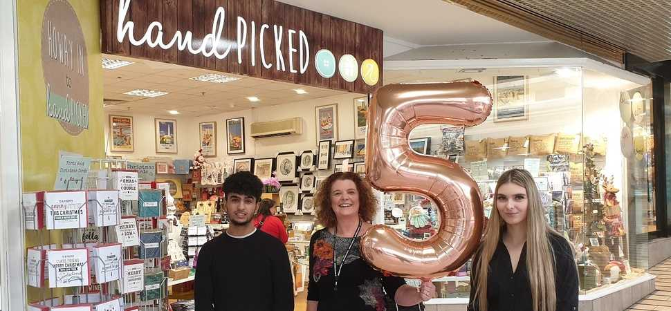 Innovative shop celebrates five years of inspiring people