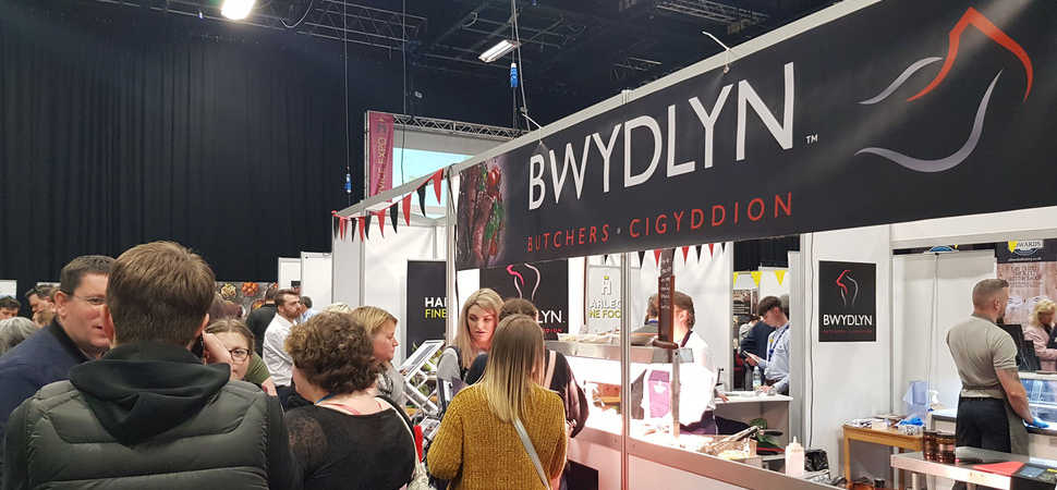Harlech Foodservice reports record footfall at annual trade show