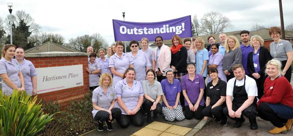 Eye care home rated Outstanding by national care inspectors