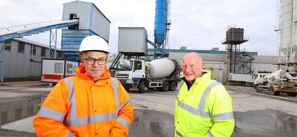 Production up 18 per cent as concrete manufacturer cements future in North East