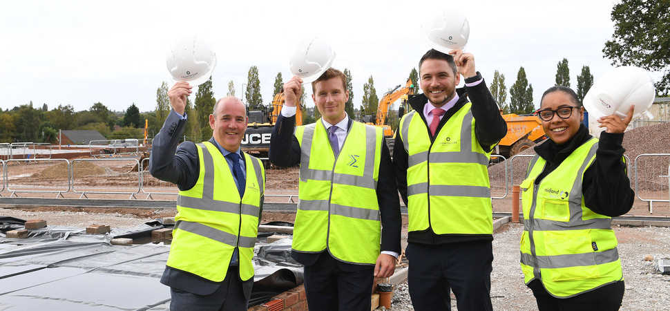 Lea Hall to be restored as works start on new housing scheme