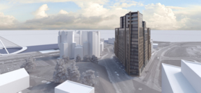 Primesite Developments submits plans for £44m residential tower in Gateshead