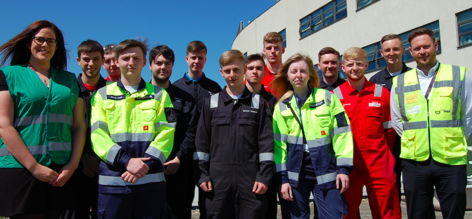 Chemistry builds as Hartlepool College of FE welcomes scientific apprentices