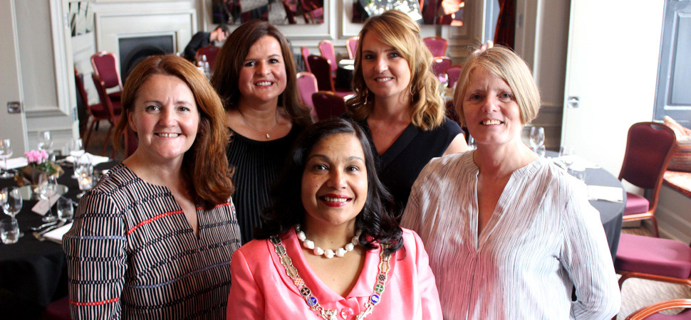 Law firm supports charity's ladies' lunch