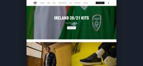 Redesign of Umbro global site unveiled