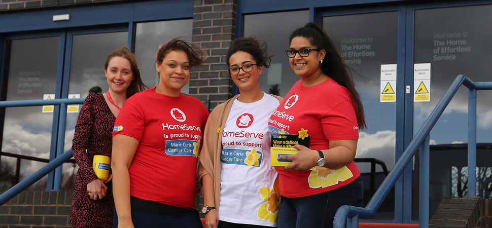 Walsall-based HomeServes charity fundraising reaches nearly £20,000