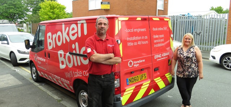 Huyton Plumbing and Heating joins HomeServes franchise network