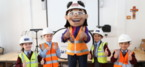 St. Modwen teaches site safety to school children in Liverpool