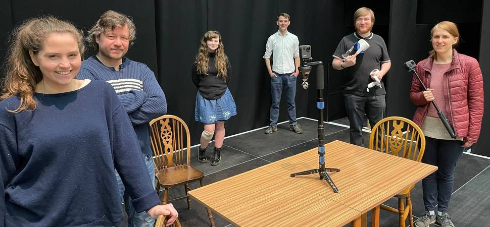 360 Degree Film Comes Full Circle for Theatre Company