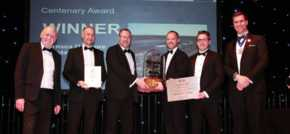 Immingham offshore wind farm wins prestigious civil engineering award