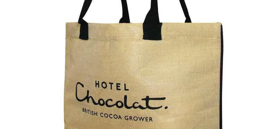 Hotel Chocolat And Jutexpo Launch Environmentally-Friendly Juco Shopping Bag