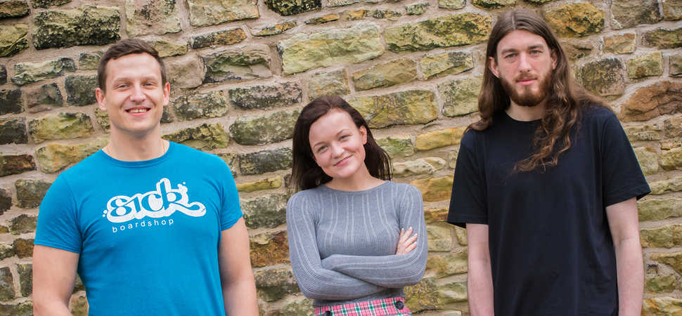 Three is a magic number for Lancashire creative agency Hotfoot Design