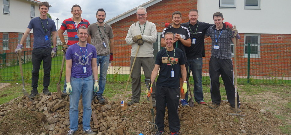 HURST staff dig in to help Seashell Trust