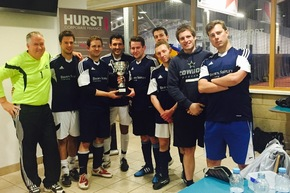 Brown Shipley triumph at HURST's charity football tournament