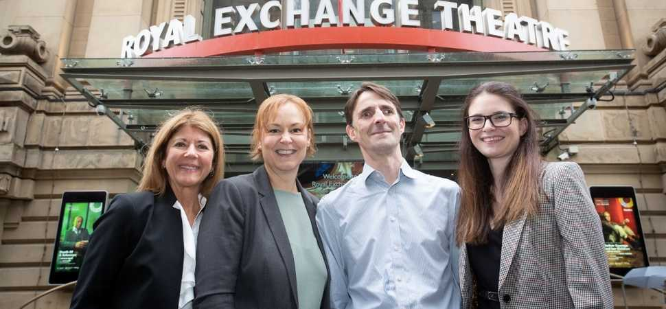 Accountancy firm HURST takes a bow at the Royal Exchange