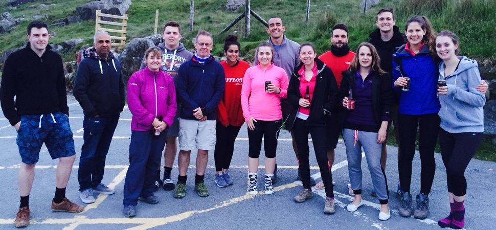 Team from HURST scale the Three Peaks for Seashell Trust