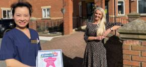 Nurse Receives Healthwatch Award for Care and Positivity.
