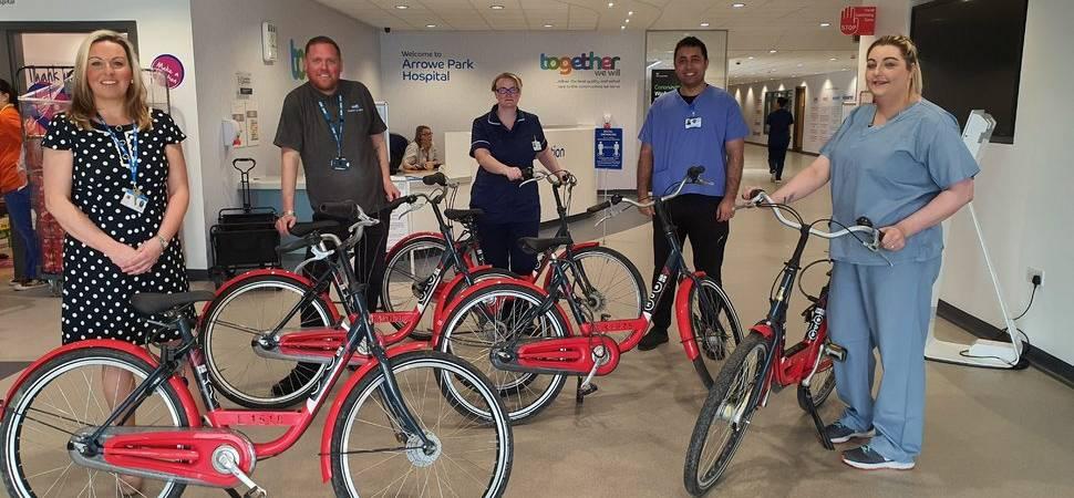 Merseyside company pledges bikes for NHS Heroes