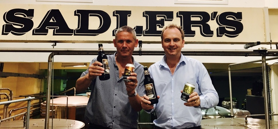Halewood Brews Support for Sadler's with Investment Deal