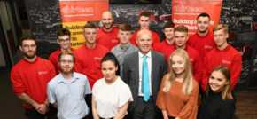 More apprentices start to build their careers with Thirteen