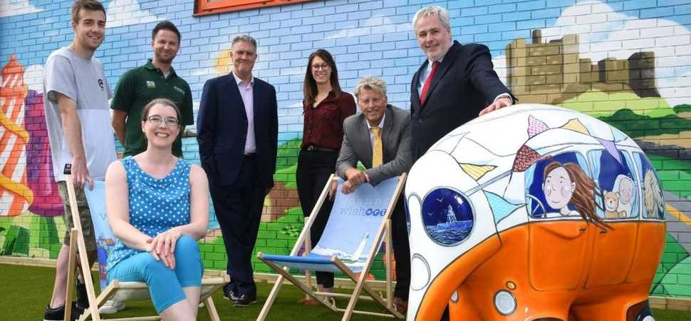 Tyne Tunnels welcomes ele-fantastic Elenora for Elmer's Great North Parade