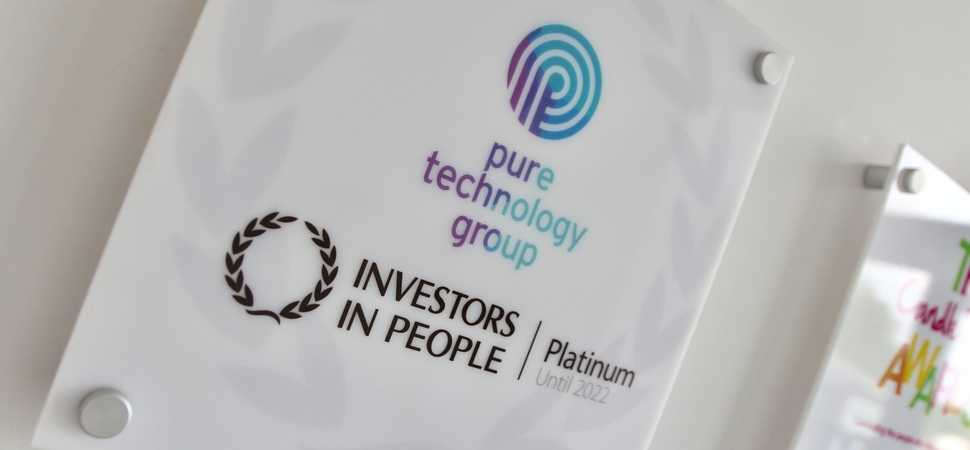 Leeds based tech firm awarded platinum standard for Investors in People