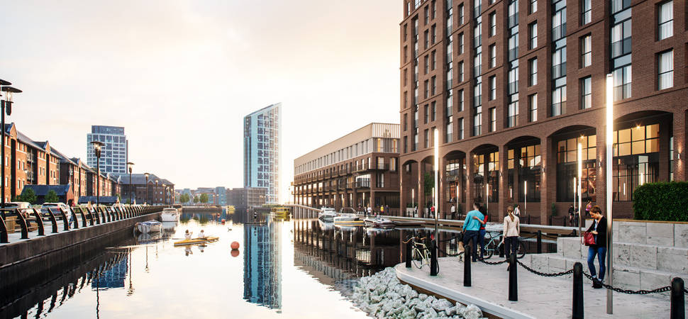 Plans submitted for exciting new £100m waterfront neighbourhood