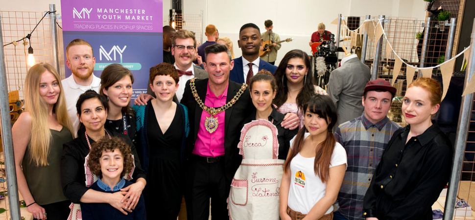 Young entrepreneurs test trade in Manchesters newest pop up shop