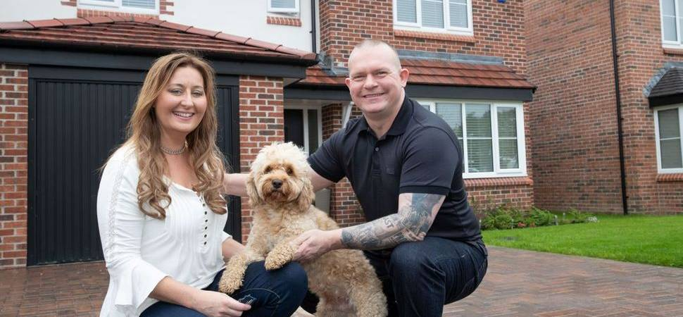 Sarah and Lee are first residents at Bellway's Earlsfield Park