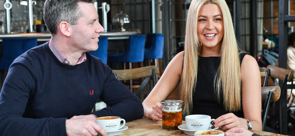 BBC's Jade English joins Worker Bee MCR at Social 7 for coffee