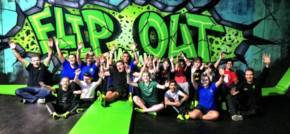 Flip Out Chatham Hosts Free Trampolining Sessions for Kent Schools