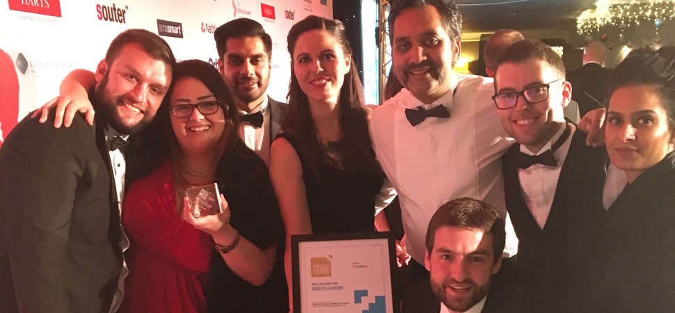 Roberts Jackson solicitors win respected Business of the Year Award