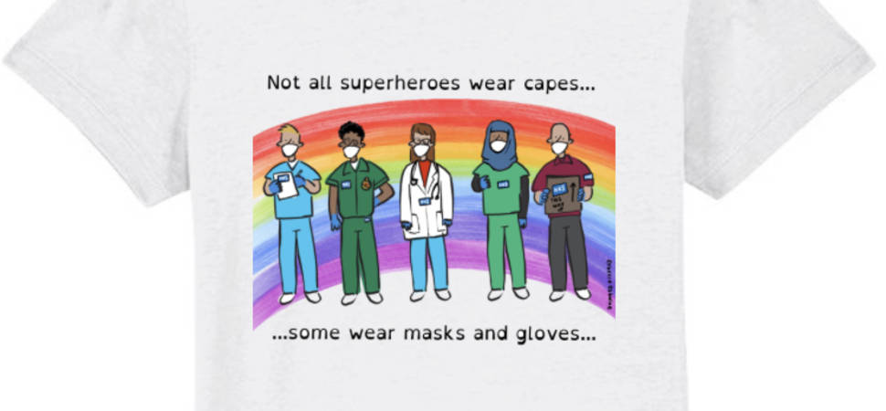 Capeless Heroes T-Shirts Launched with 100% Profits Going to the NHS