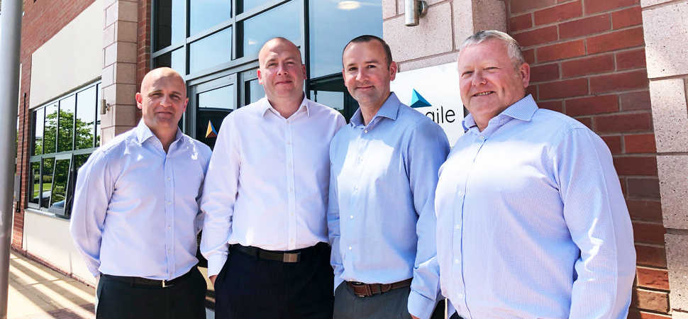 Turnover growth as thriving asset management consultancy celebrates two-years