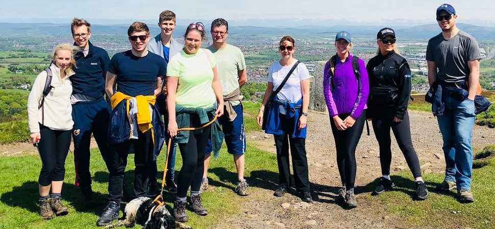 Pierce employees take on three peaks