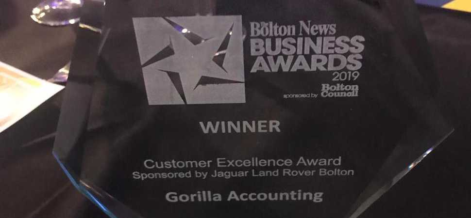 Bolton Accountancy Firm Wins Big at the Bolton News Business Awards