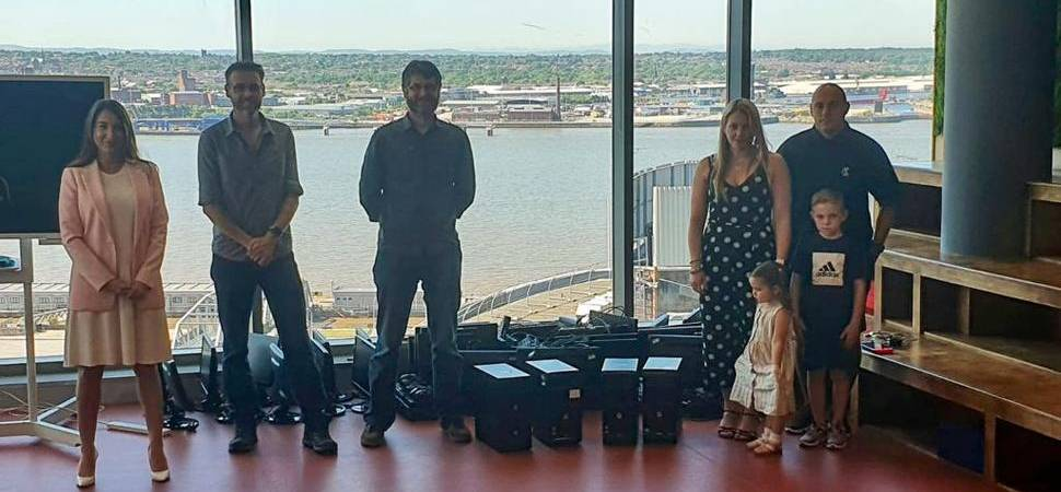 Liverpool law firm donates computers to keep students connected