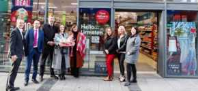Urmston adds extra sparkle at Christmas