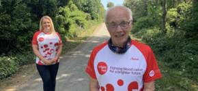 Wilf Runs 80 miles for his 80th Birthday