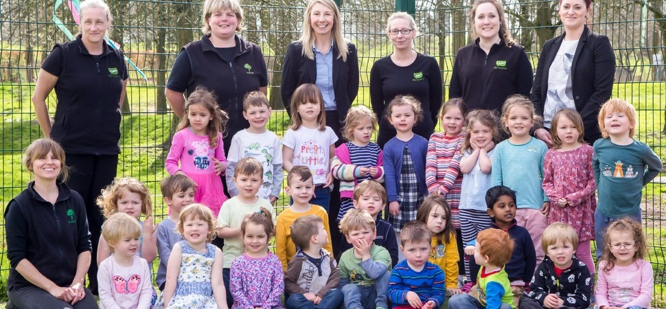Macclesfield's Scamps rated number one nursery in the North West