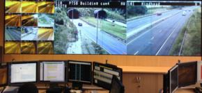 eyevis UK Keeps Traffic Moving Through Hindhead Tunnel